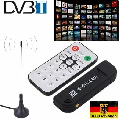 Digital DVB-T TV-Stick PC Notebook Laptop Computer USB Stick RTL2832U+R820T S2