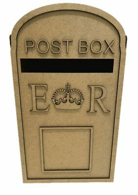 Wooden Wedding Post Box, Royal mail for Cards Letters Gifts S279