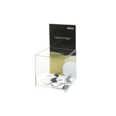 Deflecto Clear Suggestion Box/Sign Holder DE66001 [DF66001]