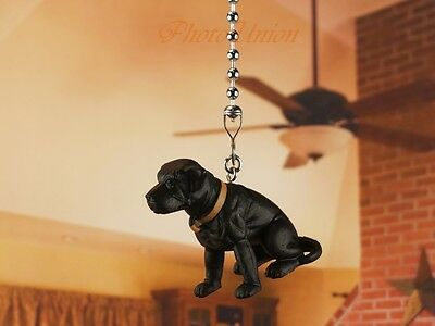 Hood Hounds LABRADOR Dog Ceiling Fan Pull Light Lamp Chain Decoration K1285 R