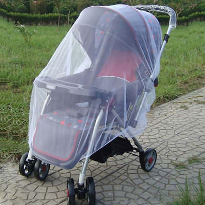 Baby Buggy Pram Mosquito Cover Net Pushchair Stroller Fly Insect Protector NEW