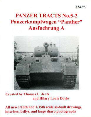 Panzer Tracts No.5-2 - Panther Ausf.A