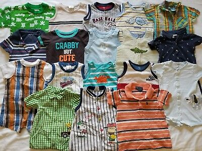 Boys 12 12/18  Spring Summer clothes outfits clothing lot