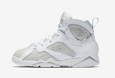 830cf79454a4d4 Nike Infant   Toddler s Air Jordan 7 RETRO BT Shoes White Silver 304772-120