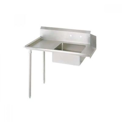 "BK Resources BKSDT-48-L Soiled 48"" Dish Table, Left Side 
