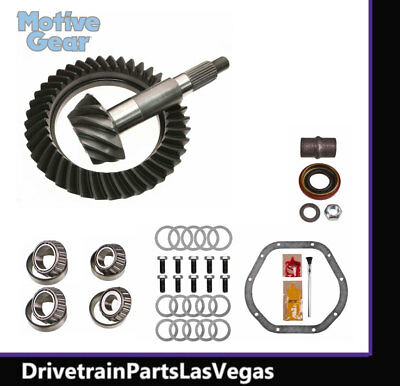 41-11 Teeth Motive Gear Performance Ring and Pinion Differential Set Dana 44 Reverse//High Pinion D44-373F 3.73 Ratio