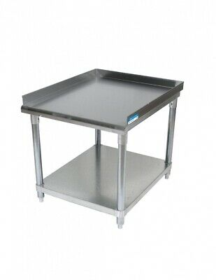 "BK Resources VETS-3630 Equipment Stand w/Galvanized Undershelf | 37"" x 30"""