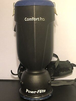 Comfort Pro Powr Flite Model BP-10S Backpack Vacuum -vacuum Only