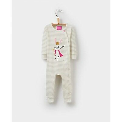 Joules Baby Gracie Applique Babygrow Baby Grow