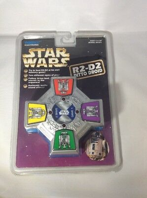 Star Wars Tiger Electronic Handheld Game R2D2 R2-D2 Ditto Droid Memory Game MIP