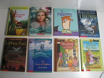 Girls Book Lot Of 8 Books Reading Level  13 5th