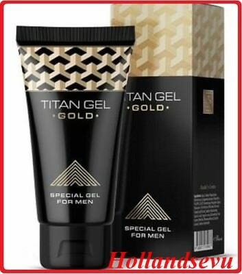New Titan Gel - Titan Gel Gold, More Effective. 50 ml, 1 Pc – Free shipping