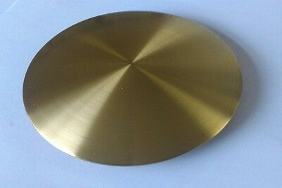 Satin Finished Brass Plated Bob Diameter 140mm Rod Size 25x7 mm