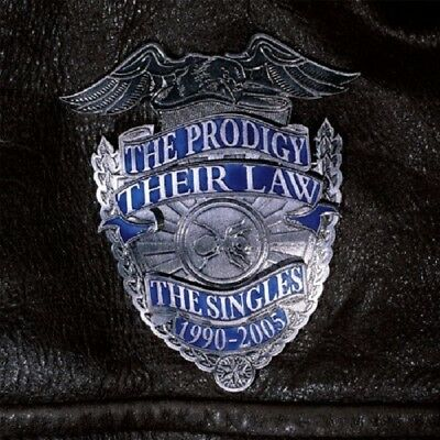 THE PRODIGY - THEIR LAW-THE SINGLES 1990-2005  CD Neuf