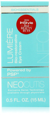 New Lumiere Bio-restorative Eye Cream with PSP, Anti-aging, 0.5 Ounce