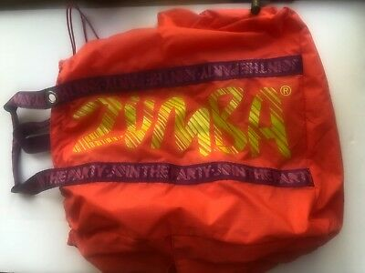 Zumba Jumbo Tote Bag Coral Offical