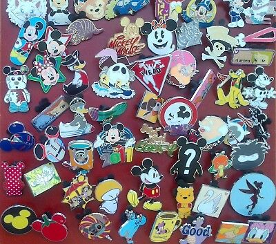 Disney Trading Pins - Lot Of 9 -  No Doubles - Free Shipping