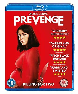 PREVENGE (2016) Alice Lowe Blu-Ray BRAND NEW Free Shipping USA Compatible