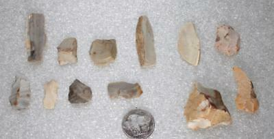 fantastic collection with blades borer scrapers microtools Mesolithic ca.8000BC