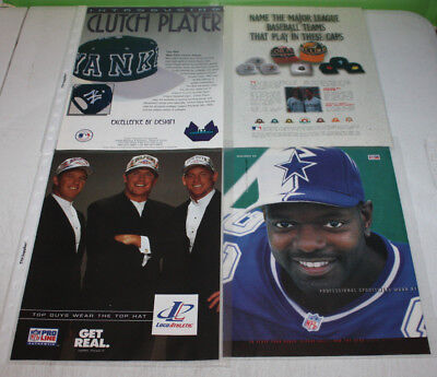 Vintage Snapback Fitted Hat Cap Advertising Print Ad Poster | You Pick