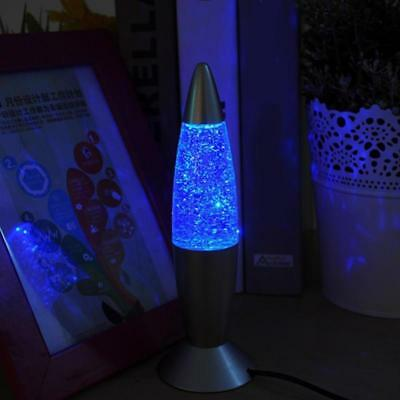 Lava Lamp Rgb Led Glitter Party Mood Night Light Night Lamp Multi Color Changing