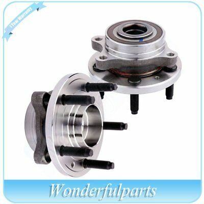 2 Rear Wheel Hub Bearing Assembly New For Ford Edge Flex Taurus 09-16 All Models