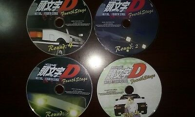 Initial D, Project D, (13 DVD Lot) OVA , Anime, Funimation (DVD, 2010)