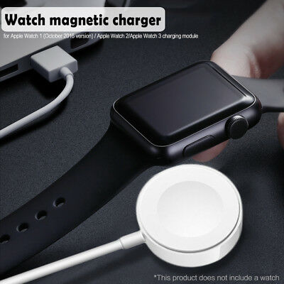 For Apple Watch Series 1/2/3 iWatch 38/42mm Magnetic Charger Charging Cable (1m)