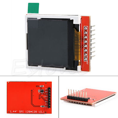 "1pc New 1.44"" Red Serial LCD Display Module 128*128 TFT Color Screen PCB Adapter"