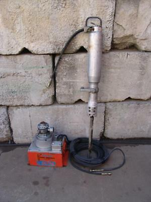 DARDA ELCO HYDRAULIC ROCK SPLITTER HAMMER   MODEL 11s WORKS FINE