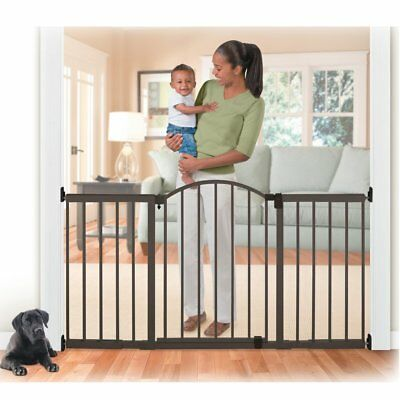 Summer Infant Metal 6 ft. Extra Tall Walk-Thru Expansion Baby Gate - Bronze