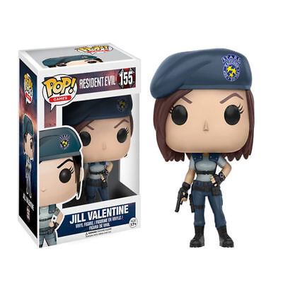 Games Resident Evil - Jill Valentine #155 Vinly Funko Pop! Action Figure Statue