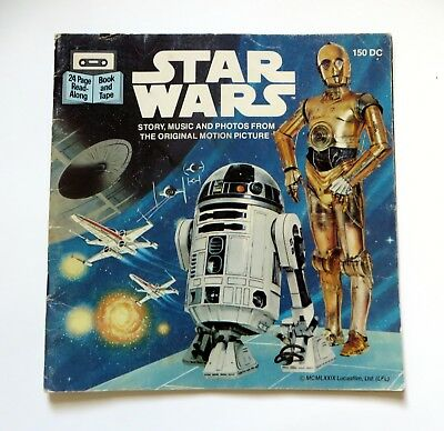 Star Wars READ ALONG BOOK 1979 Buena Vista Vintage Color Pictures BOOK ONLY