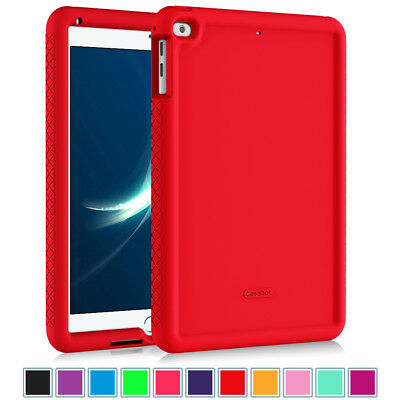 For New iPad 6th Gen 9.7 inch 2018 / 5th Gen 2017 Tablet Silicone Case Cover