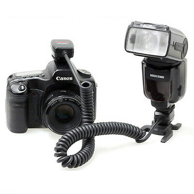 Horusbennu OC-SC Off Camera TTL Remote Sync Shoe Cord for Canon OC-E3