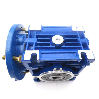 NMRV030 Worm Gear Reducer 56B14 Ratio 15 20 30 40 50:1 for Asynchronous Motor