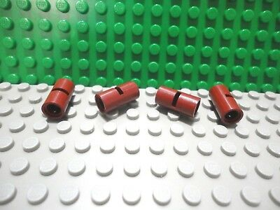 Lego 10 Black technic 2L pin connectors NEW
