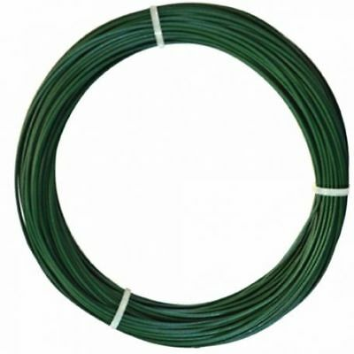 Alambre plastificado verde 2,4mm x 100mt intermas