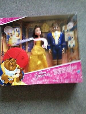 Disney Princess Beauty And The Beast Ballroom Reveal Doll Dancing Set