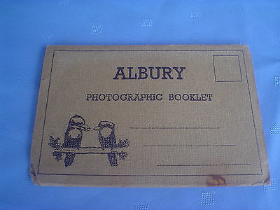 Albury Photographic Booklet Drop Down Pictures 1930s
