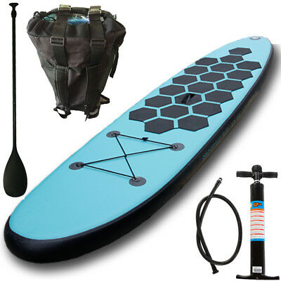 Stand up Paddle Set SUP Board Surfboard Paddelbrett Paddelboard aufblasbar 305cm