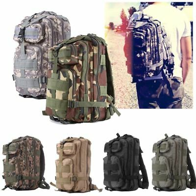 30L Military Camping Backpack Tactical Camping Hiking Travel Bag Outdoor LOT