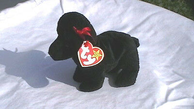 Ty GiGi the Poodle Beanie Baby Retired Mint with Tags