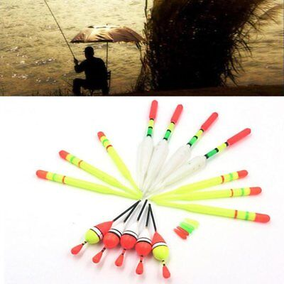 15PCS Assorted Sizes Lot Fishing Lure Floats Bobbers Slip Drift Tube Indicator