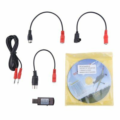 22 In 1 RC USB Flight Simulator Cable For Realflight G7/G6/ G5 Phoenix 4 E2HG S1