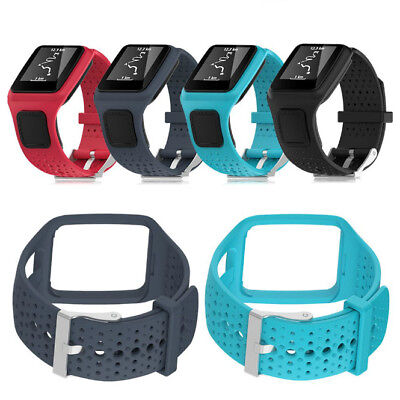 Replacement Silicone Wrist Watch Band Strap ForTomTom Sport/Cardio/Runner Watch