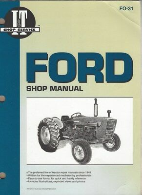 Ford 2000/3000/4000 Tractor Workshop Manual