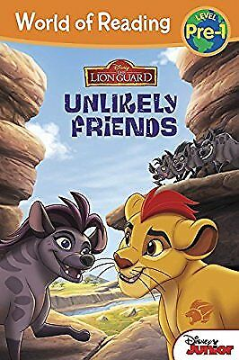 The Lion Guard: Unlikely Friends (World of Reading: Level Pre-1), Disney Book Gr