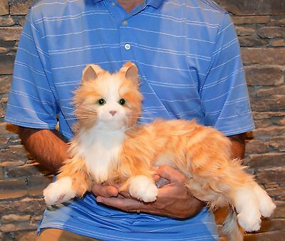 Joy For All -Orange Tabby Robotic Companion Cat for People with Alzheimer's