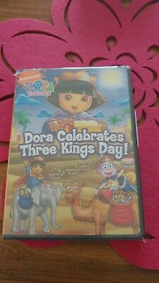 Dora the Explorer - Dora Celebrates Three Kings Day (DVD, 2008) BRAND NEW